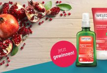 Gewinnspiel Weleda Granatapfel Pflege Bodfeld Apotheke