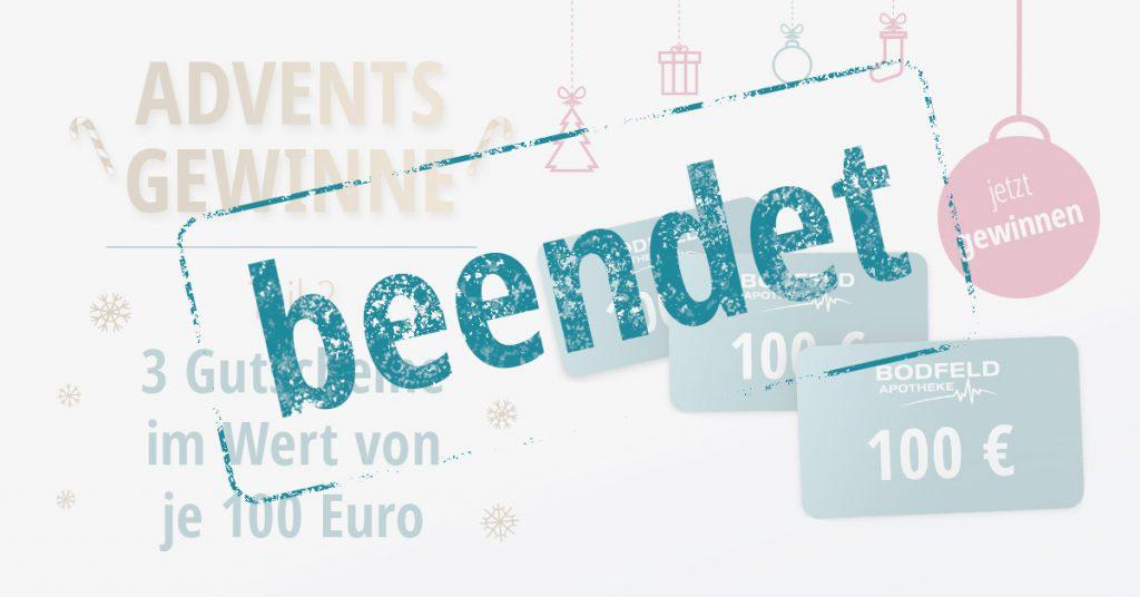 Gewinnspiel Bodfeld Apotheke Gutscheine