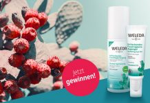 Zwei WELEDA-Produkte mit Feigenkaktus
