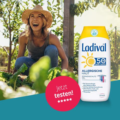 Ladival Sonnengel für allergische Haut LSF50+